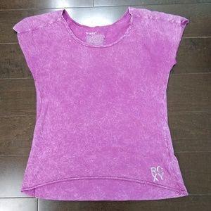 Roxy | Pink Dyed Sleeveless T-Shirt